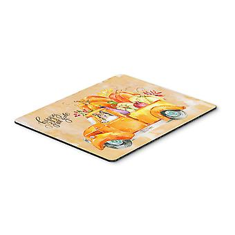 Carolines Treasures  CK2633MP Fall Harvest Sheltie Mouse Pad, Hot Pad or Trivet