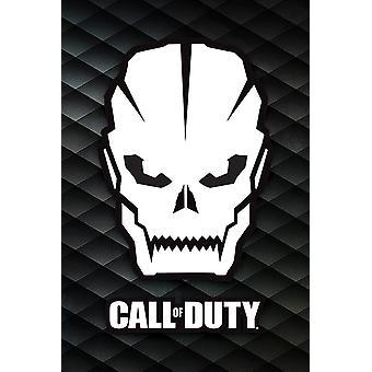 Chiamata del cranio di poster di dovere