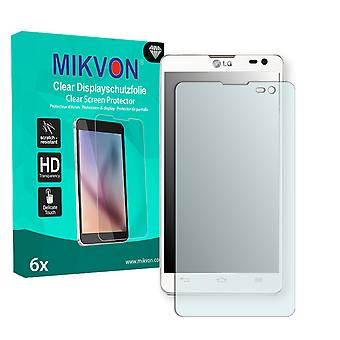LG D605 Optimus L9 II Screen Protector - Mikvon Clear (Retail Package with accessories)