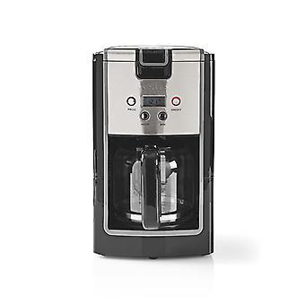 Nedis KACM120EBK Koffiezetapparaat 12-kops Inhoud 24-uurs Timer Zwart