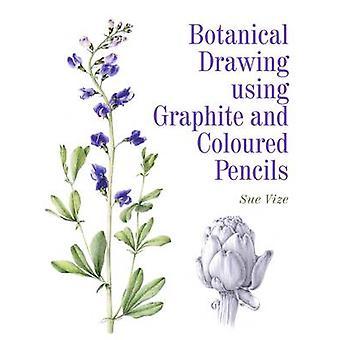 Botanische Zeichnung mit Graphit und Buntstifte von Sue Vize - 9