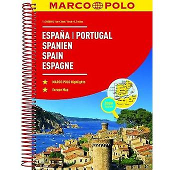Spain and Portugal Marco Polo Road Atlas by Spain and Portugal Marco