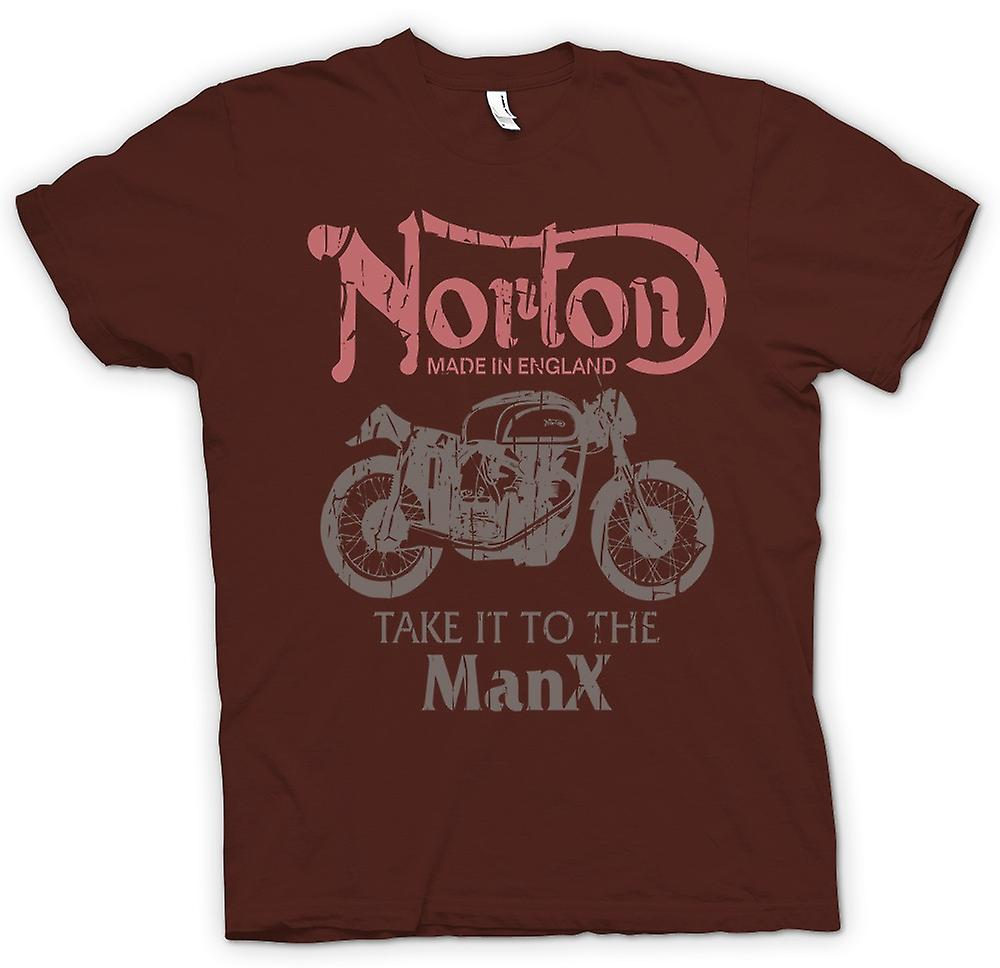 Mens T-shirt - Take It To The Manx