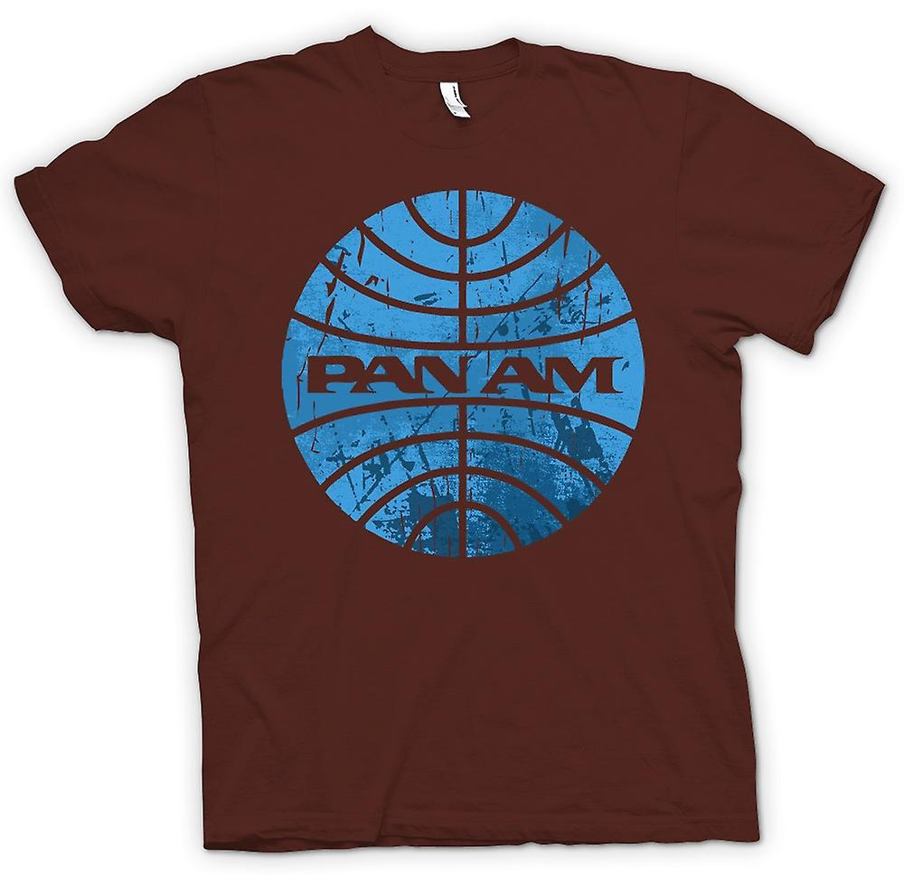 Mens T-shirt - PAN AM Airlines Logo - Cool