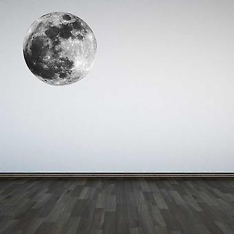 Full Colour Moon Wall Sticker