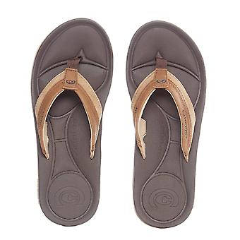 Cobian Brown Bolster Archy Flip Flop