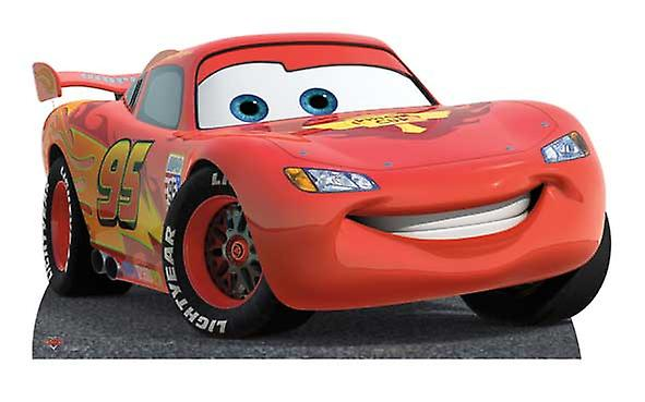 Bliksem McQueen (Disney) - levensgrote kartonnen uitgesneden / Standee