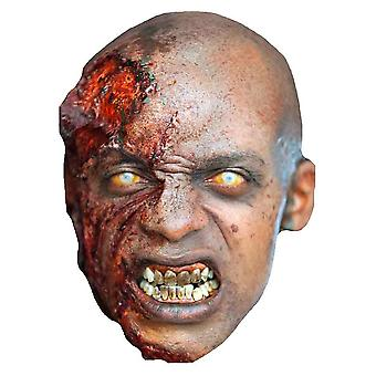 The Walking Dead Zombie-Party-Karte Blutende Gesichtsmaske