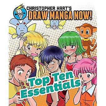 Top Ten Essentials: Christopher Hart's Draw Manga Now!