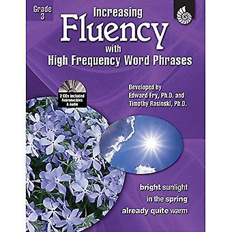 Increasing Fluency with High Frequency Word Phrases: Grade 3 [With 2 CDROMs]