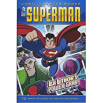 Lex Luthor's Power Grab! (Superman: Comic Chapter Books)