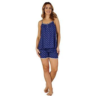 Slenderella GL3713 Women's Gaspe Floral Pajama Short Pyjama Set