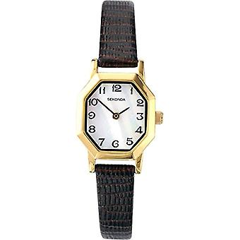 Sekonda wristwatch, female, Skin, Brown (2)