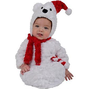 Christmas Bear Infant Costume