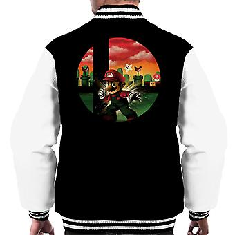 Smashbros Mario Men's Varsity Jacket
