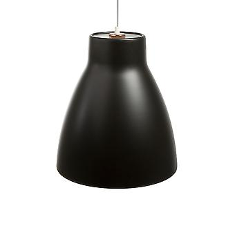 Belid - Gong a sospensione a LED luce finitura nera 103807