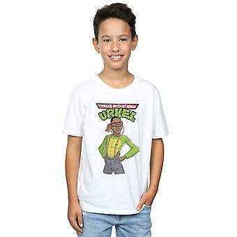 Pennytees Boys Teenage Mutant Ninja Urkel T-Shirt
