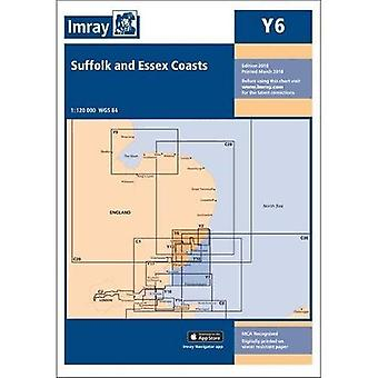 Imray Chart Y6: Suffolk and Essex Coasts (Y Charts)