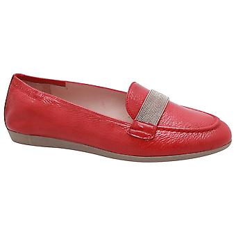 Hispanitas Flat Leather Moccasin Shoes