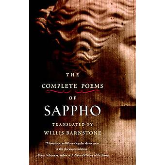 The Complete Poems of Sappho by Willis Barnstone - 9781590306130 Book