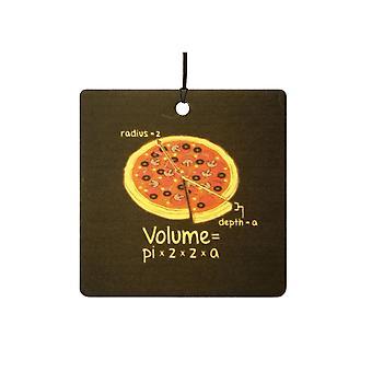 Pizza Volume Formula Car Air Freshener