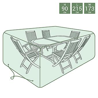 Charles Bentley Large Tarpaulin Garden Furniture Set Cover - Green