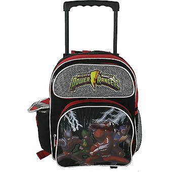 Small Rolling Backpack - Power Rangers - Black School Bag 496555