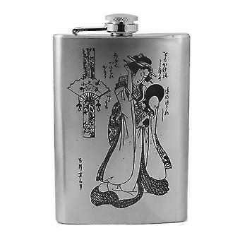 8oz geisha v1 flask l1