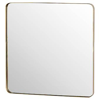 Hill Interiors Narrow Edged Curved Mirror