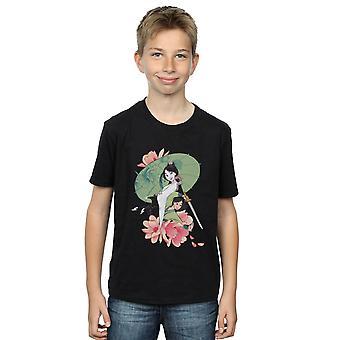 Disney Jungen Mulan Magnolia Collage T-Shirt