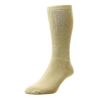 HJ Hall Cotton Diabetic Socks - Oatmeal
