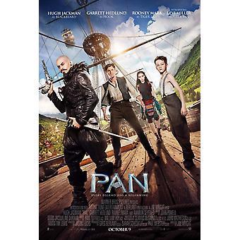 Pan Original Movie Poster Double Sided Style régulier B