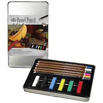 Pastel Pencil Art Set with Tin Rset2506