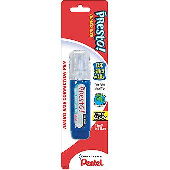 Presto! Correction Pen 1/Pkg-12ml Fine Point ZL31WBP