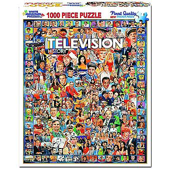 Television History 1000 piece jigsaw puzzle 760mm x 610mm  (wmp)