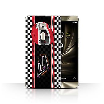 STUFF4 Case/Cover for Asus Zenfone 3 Deluxe ZS570KL/Austria/Spielberg/F1 Track Flag