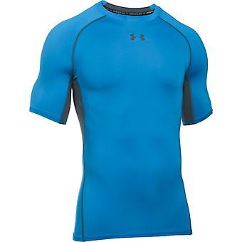 UA HG Armour Short Sleeve Compression Top