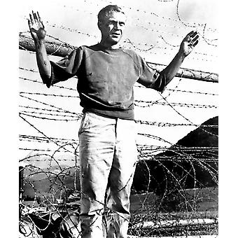 The Great Escape Steve Mcqueen 1963 Photo Print