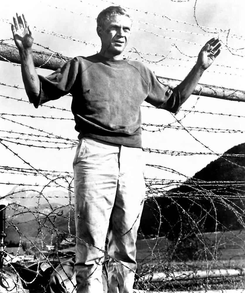 The Great Escape Steve Mcqueen 1963 Photo Print