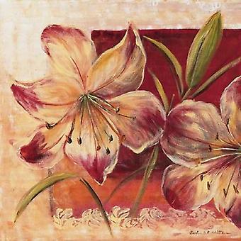 Klasyk kwiat lll Poster Print przez Katharina Schottler