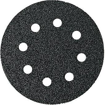 Router sandpaper set Hook-and-loop-backed, punched Grit size 40, 60, 80 (Ø) 115 mm Fein 63717233020 1 Set
