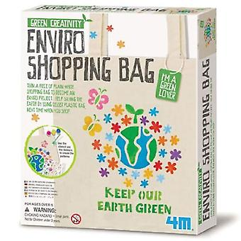 Great Gizmos 4M Green Creativity Enviro Shopping Bag