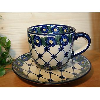 Complete service for 6 people, unique 53 - polish pottery - BSN 0429