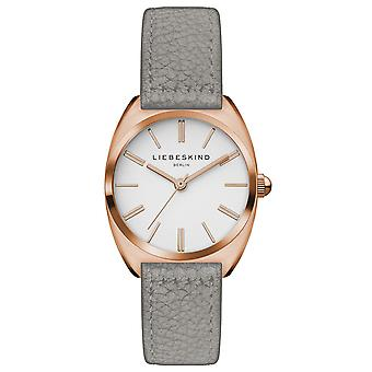 LIEBESKIND BERLIN ladies watch wristwatch leather LT-0053-LQ