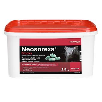 Neosorexa W/b Bait Blocks 2.5kg