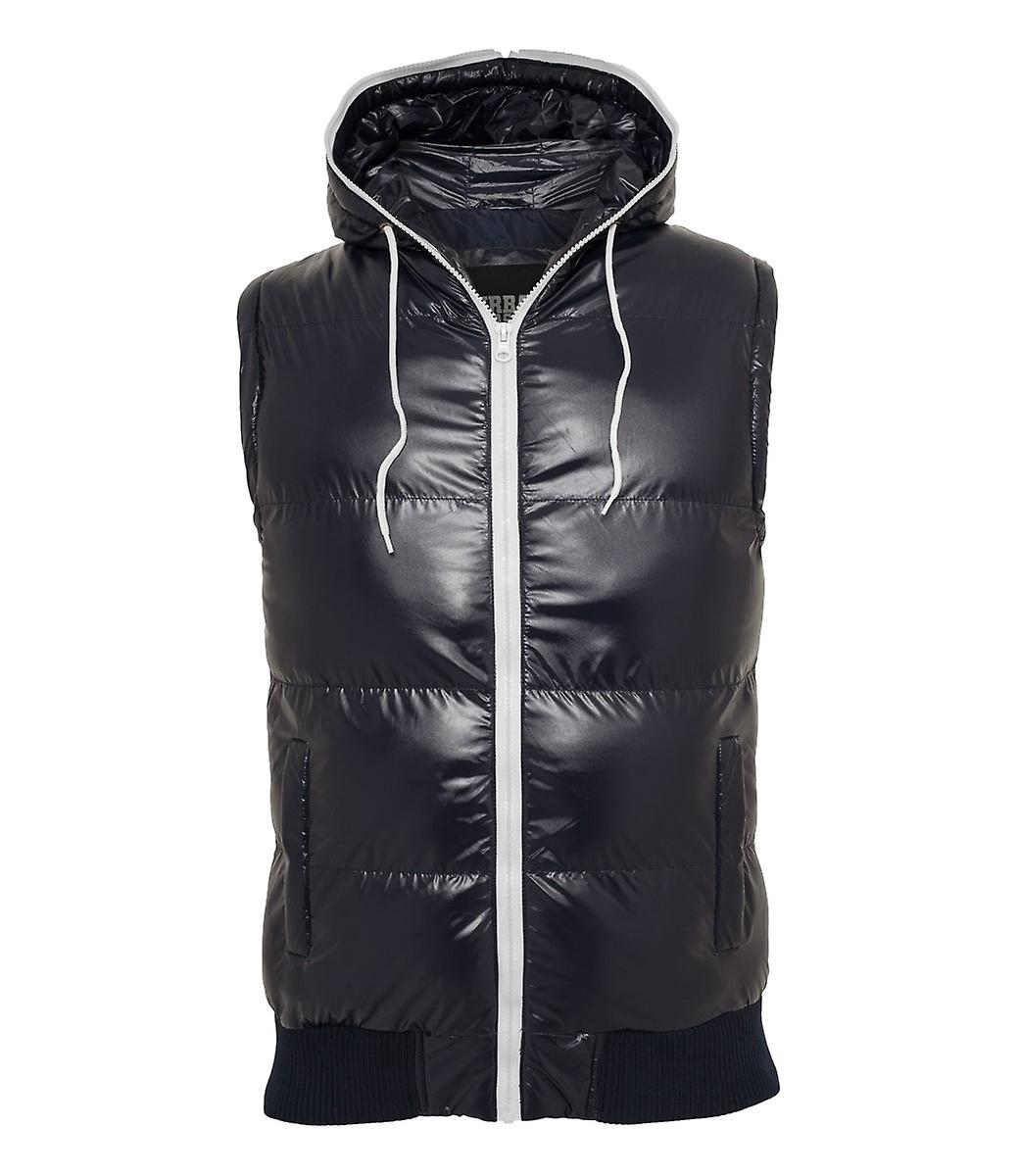 Urban classics hooded bubble vest