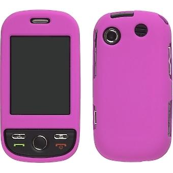Two piece Soft Touch Snap-On Case for Samsung Messager Touch SCH-R630, SCH-R631