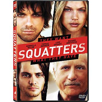 Squatters [DVD] USA import