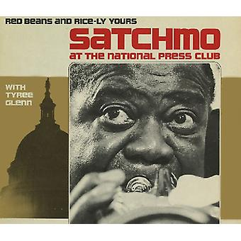 Louis Armstrong & Tyree Glenn - Satchmo presso il National Press Club: importazione USA Red Beans & Ri [CD]
