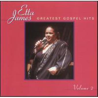 Etta James - Etta James: Vol. 2-Greatest Gospel Hits [CD] USA import